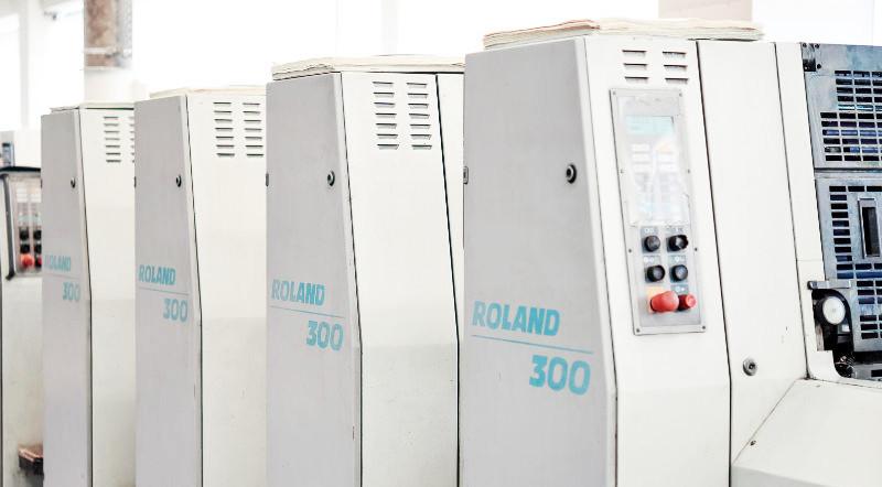 MAN Roland 304 L bei der Gebrüder Voit GmbH